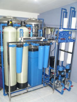 Water Refilling Station Reverse Osmosis Machine 4500gpd