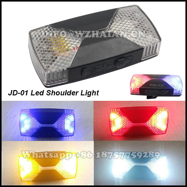 Police Shoulder Light Lamp Manufacturers Led Mini Warning