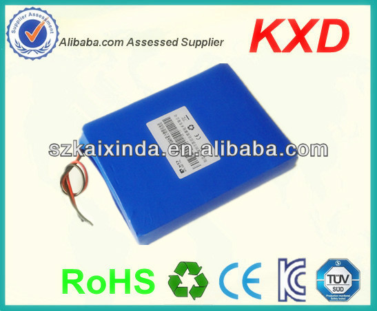shenzhen 24v lithium polymer battery 10 ah backup rechargeable