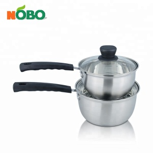 NOBO 304 Stainless Steel Biryani Cooking Pot with Double bottom