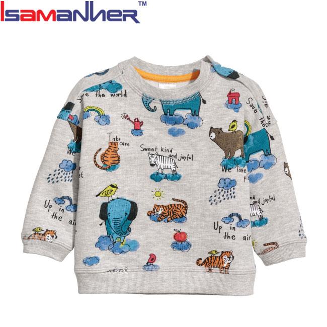Bambini ragazzini vestiti all'ingrosso pullover felpe per bambini