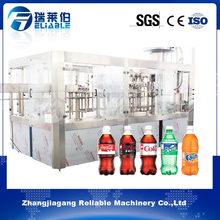 Top Sale Carbonated Drink Water Filling And Bottling Machine Plant