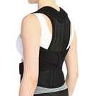 Women and Men Back Brace Lumbar Support Back and Shoulder Brace Posture Corrector