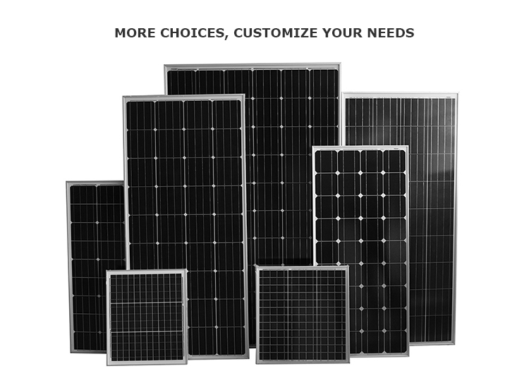 China Herstellung flexibler Solarpanel 300w 310w 320w 330w 340w Poly-PVC-Panel