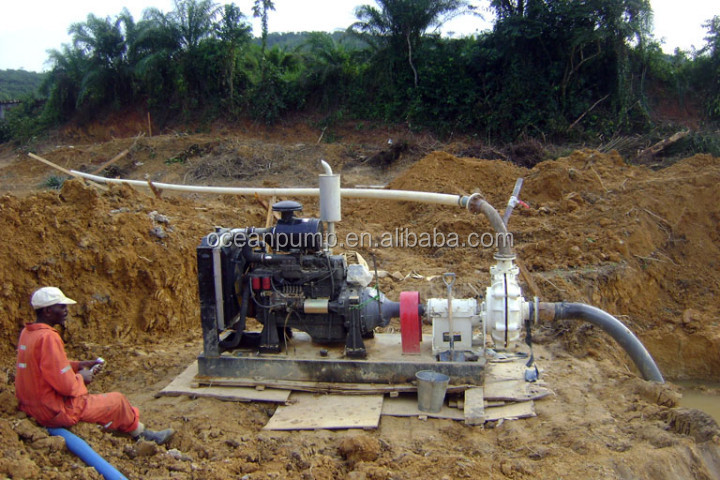 Easy Assemble High Efficiency Centrifugal Dewatering Pump