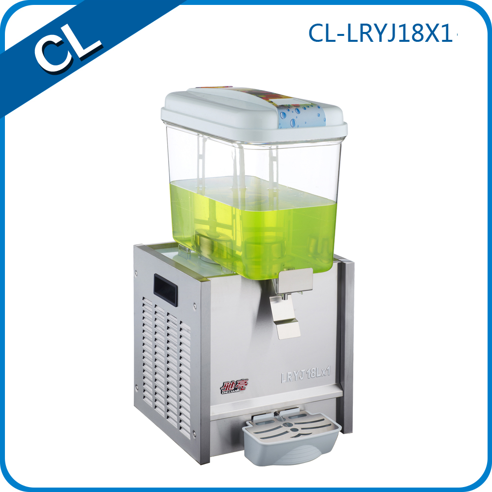 China CE approved NingBO CL 304 stainless steel hotel using best commercial cold fruit beverage juice dispenser