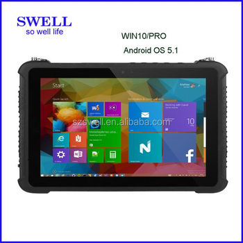 SWELL I22H 12 inch android tablet industrial use 4G LTE Rugged Tablet pc with rs232/rs485 oem outdoor