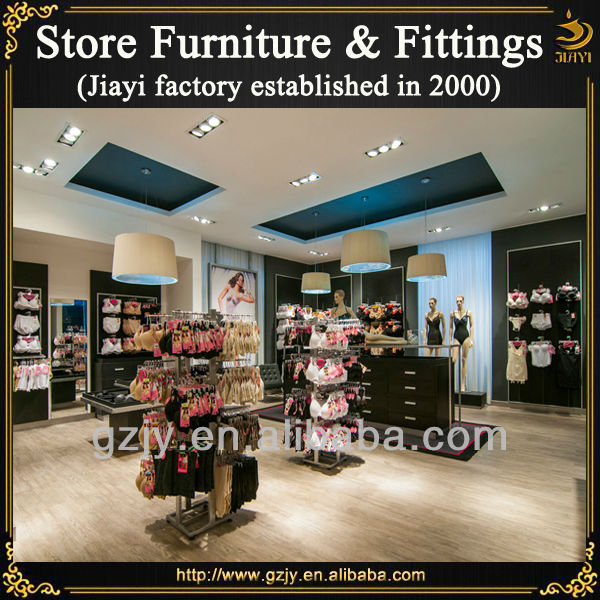 c170c0e2d Modern retail underwear shop interior decoration furniture with bra display  rack and lingerie stand