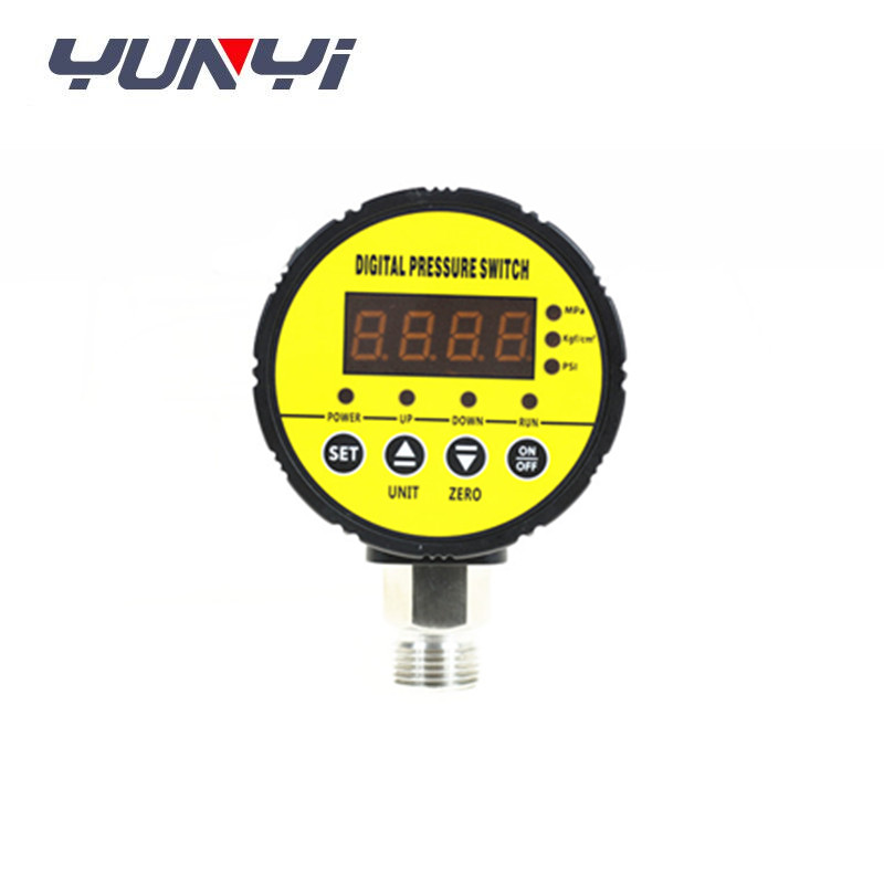 12v Dual intelligent digital air pressure gauge/ pressure switch
