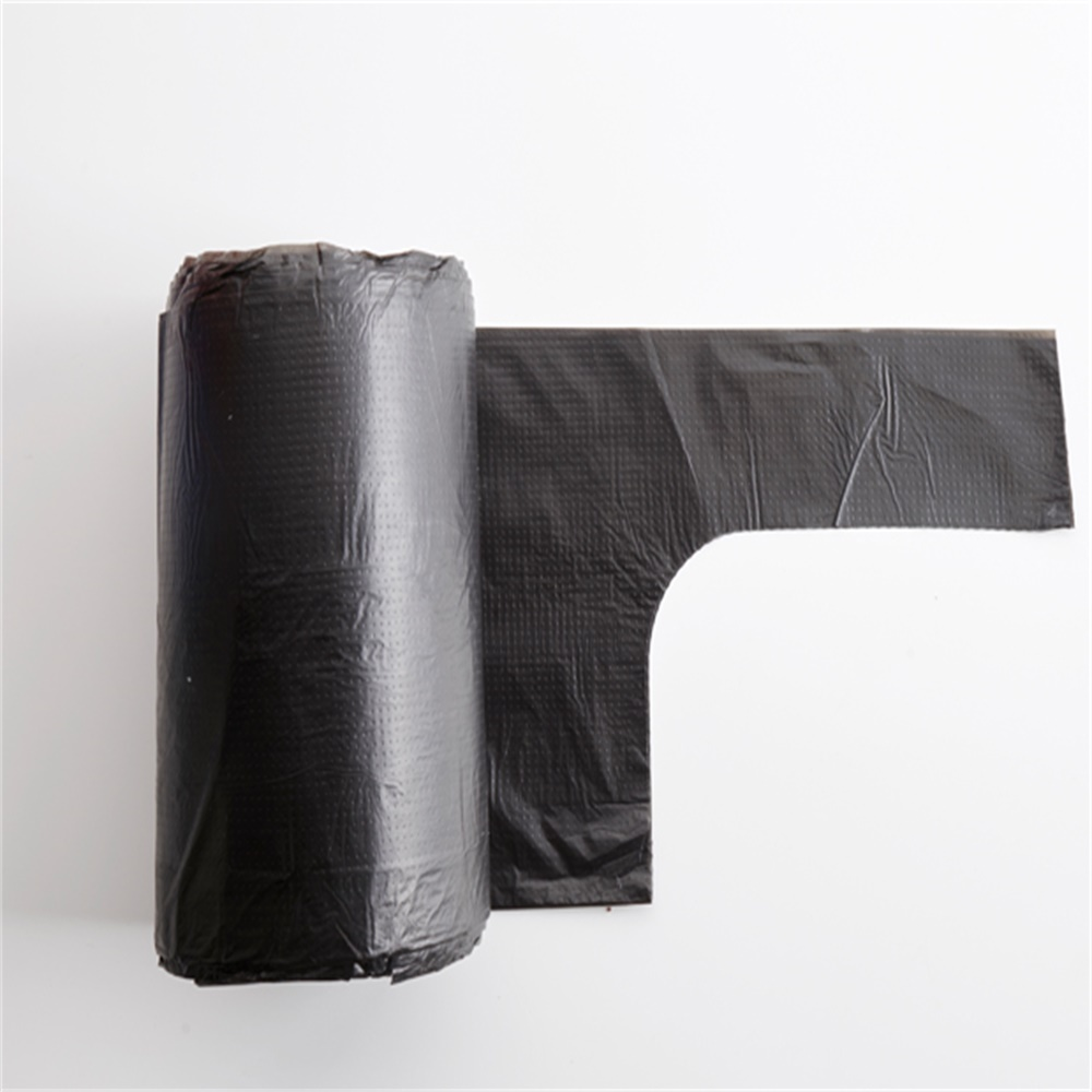 Factory Kitchen Handle Tie 13 gallon Garbage Bag on Roll