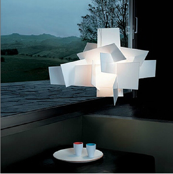 Modern style decorative acrylic hanging led pendant light