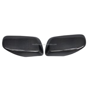 E60 Carbon Mirror Guards for BMW 535i Gran Turismo Hatchback 4-Door