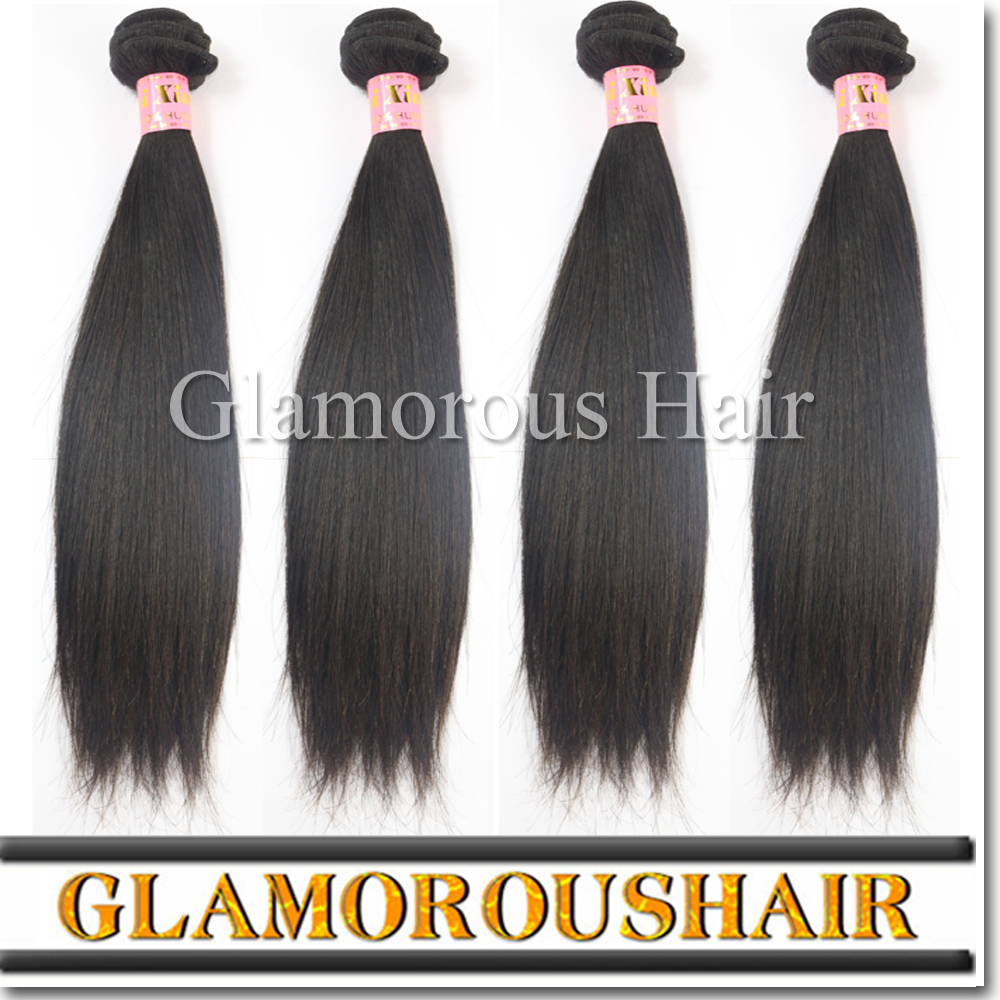 Wholesale Raw virgin unprocessed get free extensions human hair weave