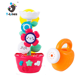 Funny pirate toy baby shower bath toys boat