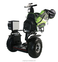 2016 Newest Stand up off road 2 wheel self balancing electric golf cart scooter