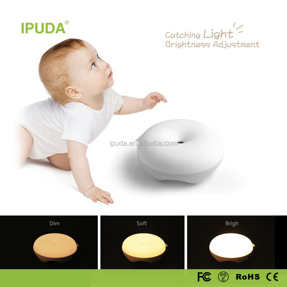 invention patent products 2017 IPUDA Q5 star night light with zero touch gesture dimmable control
