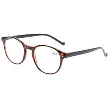 Henotin модные круглые очки для чтения весенние петли мужские и женские очки для чтения диоптрий 0,5 1,75 2,0 3,0 4,0 .......(Китай)