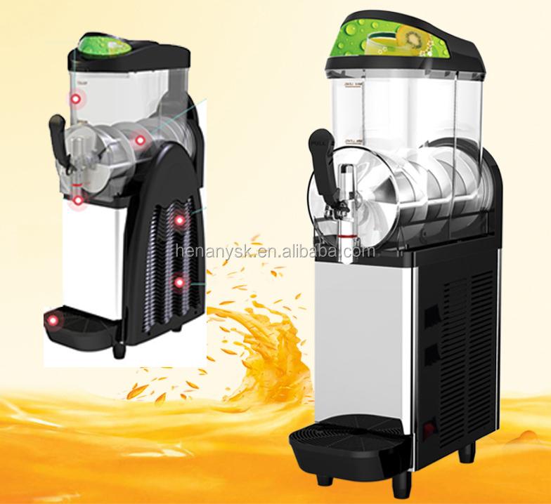 XC112A 12L Single Tank Commercial Slush Maker Machine Cold Beverage Dispenser Plastic Drink Dispenser