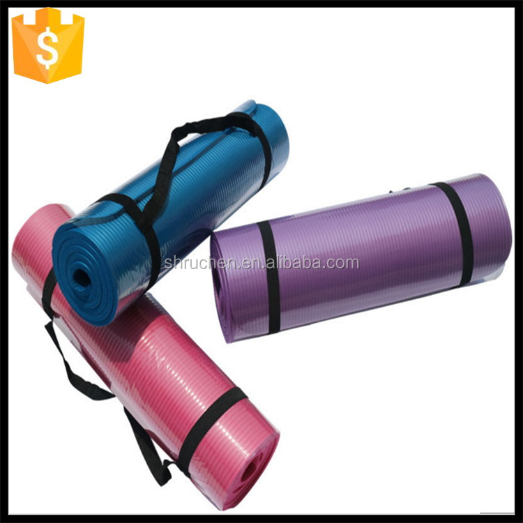 China supplier direct sale oem great cushioning nbr yoga mat