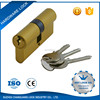 Aluminum cylinder lock door lock types