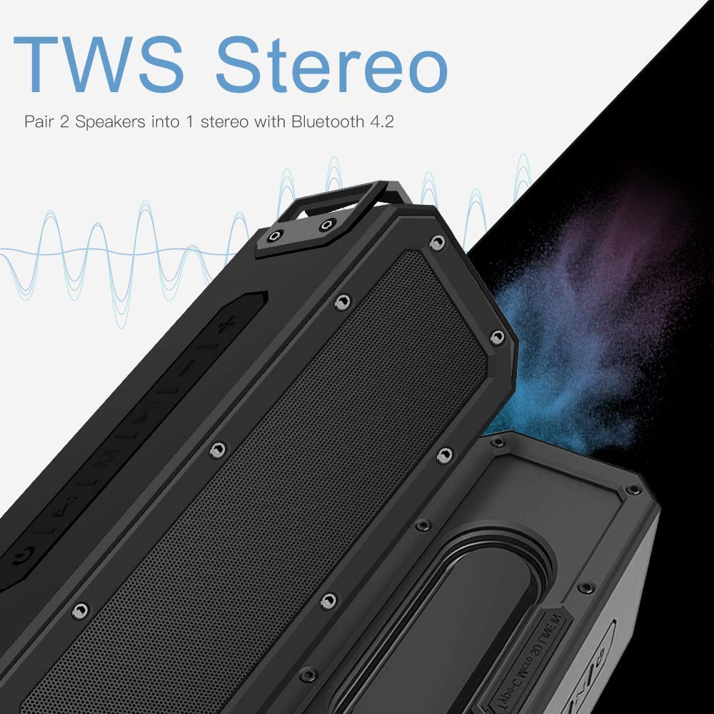 2019 ShenZhen New Design High Quality TWS IPX7 Waterproof  wireless Speaker 40W