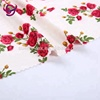 hot selling new fashion brushed polyester knitted stretch flower print fabric