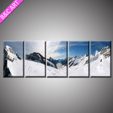 5 piece canvas painting natural scenery wall picture print canvas painting