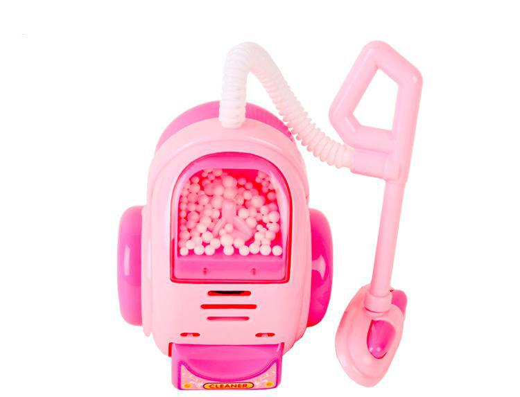 pink iron pretend play childrens kids toy vacuum cleaner girls game education. Black Bedroom Furniture Sets. Home Design Ideas