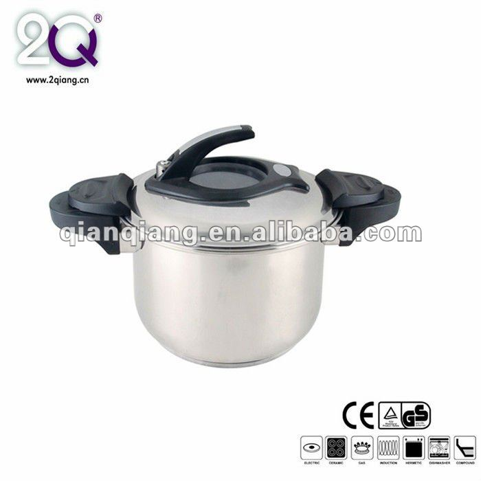 safe low pressure stainless steel cooker