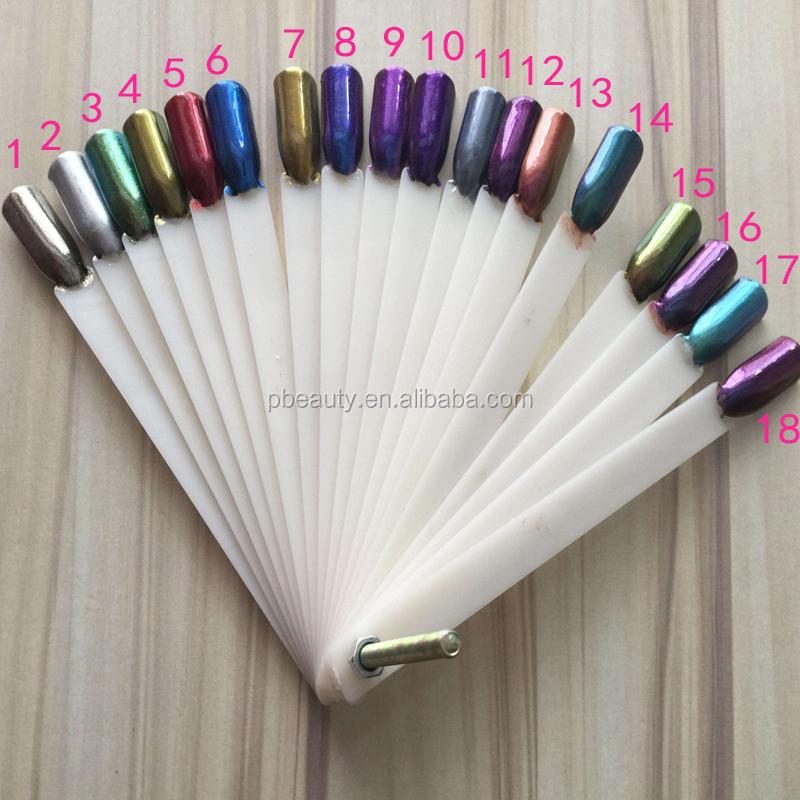 gro handel 18 farben 5g glas chrom spiegeleffekt pigment. Black Bedroom Furniture Sets. Home Design Ideas