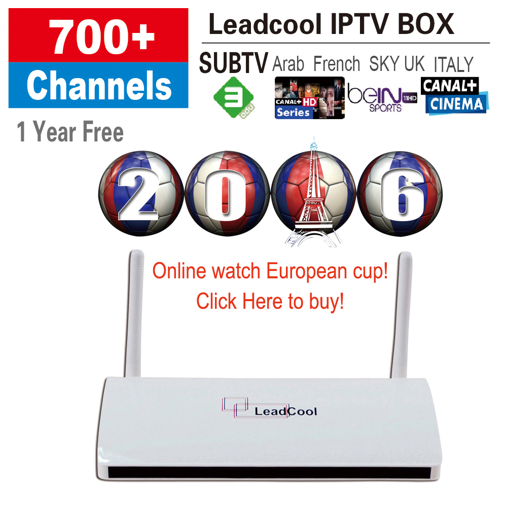 Sky Iptv Account Iudtv 700 Europe Channels One year With Ott Tv Box  Leadcool Android Box Android4 4 512M/8G Quad Core Iptv Box - drone4sky