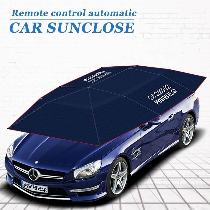 Car Sunclose Remote Control Smart Car Cover Reflective Sun Shade For ... 3f3b5d7cb2b