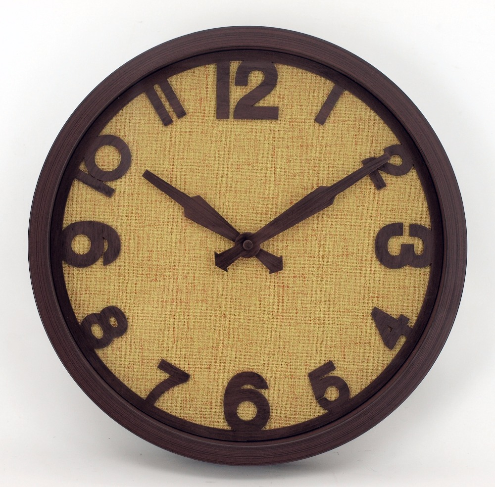 Imitated Wooden Wall Clock, Imitated Wooden Wall Clock Suppliers and ...
