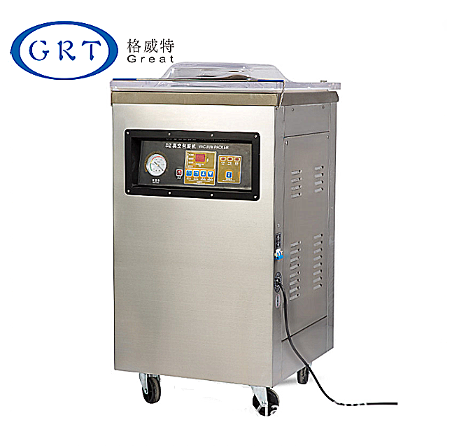 Single Chamber Vacuum Pressed Salted Duck Meat Baling Packing Machine