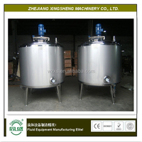 Stainless Steel Steam Jacketed Mixing Kettle