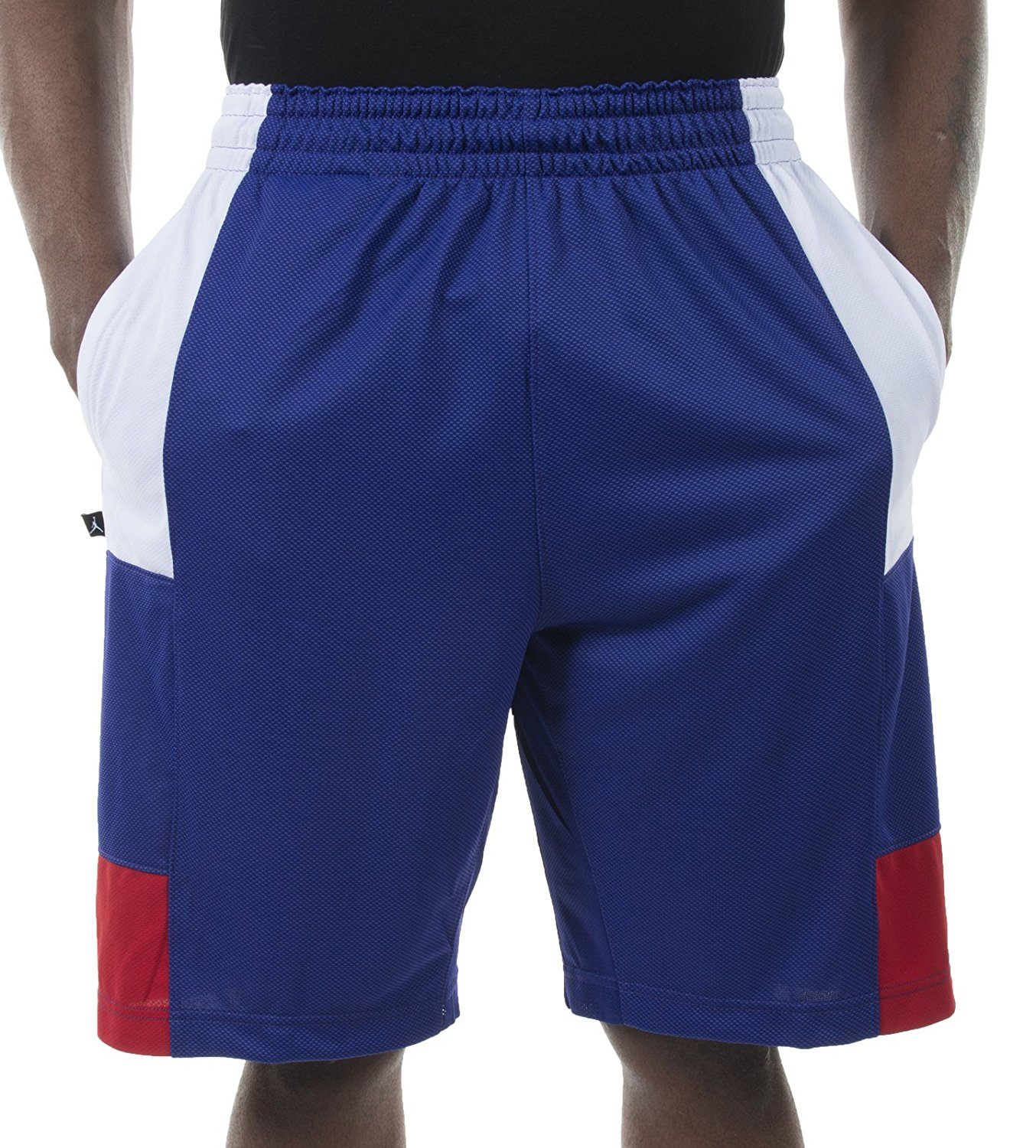 7cbd588197b Get Quotations · Nike Air Jordan Men's Trillinaire Basketball Shorts 589109  Purple 423