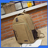 High Quality Vintage Canvas School Backpack Laptop Traveling Backpack for Boys Girls