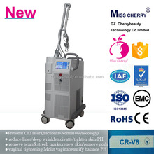 Sealed off laser device acne scar removal treatment tighten vagina laser wart removal machine CR-V8