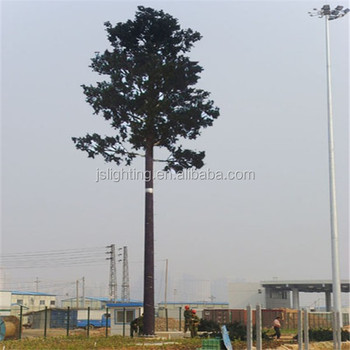 Bionic camouflaged tree tower telecommunication steel monopole tower