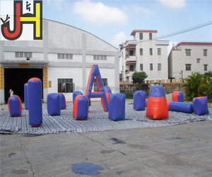 Inflatable Bunkers Paintball,Inflatable Paintball Obstacle, Inflatable Paintball Arena