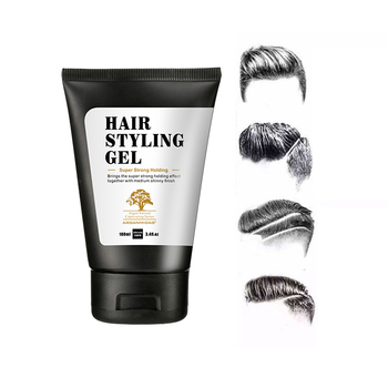 Best Hair Styles Product Styling Gel Travel Size Wholesale Glitter Hair Gel
