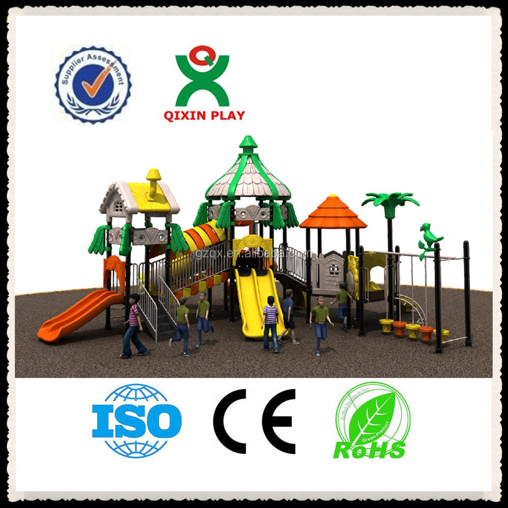 Fit Early years play equipment,outdoor preschool equipment, childrens outdoor slides China/ QX-016B