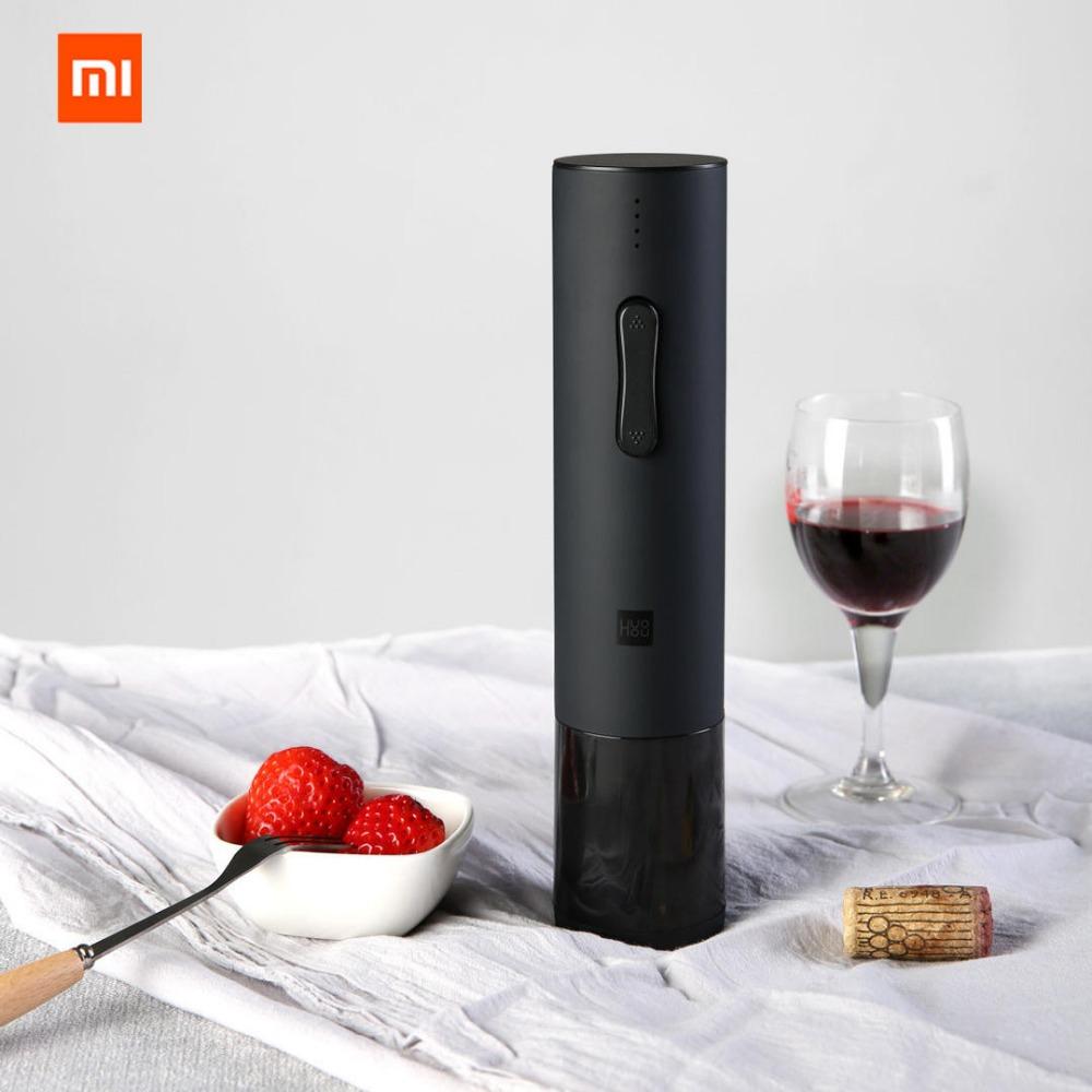 Xiaomi Huohou Automatic Wine Bottle Opener Xiaomi Mijia Electric Wine Opener with Foil