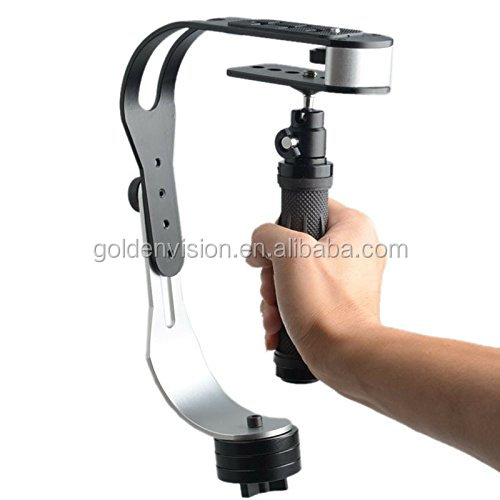 Handheld Video Camera Stabilizer Steady For Smartphone GoPro Canon Nikon Sony Pentax and others DSLR Camera up to 2.1 lbs