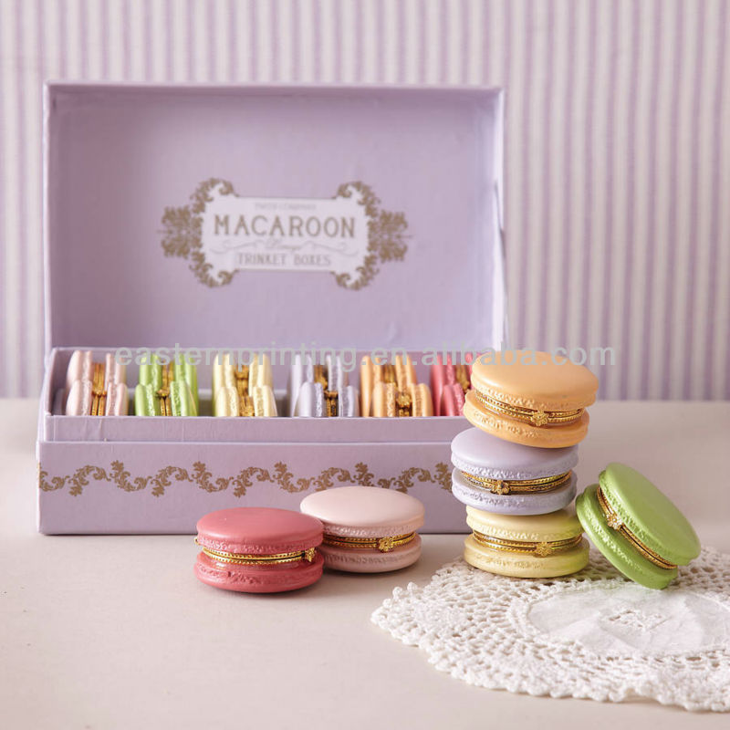 Luxury Macaron Gift Box For Laduree/ Macaron Trinket Box - Buy Luxury  Macaron Gift Box For Laduree,Macaron Trinket Box,Macaron Box Product on