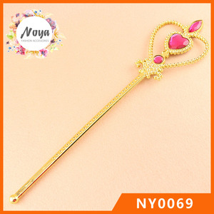 Fashion Princess Wand Cheap Children Plastic Fairy Wand