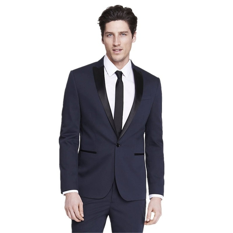 2017 new design high quality coat pant evening wedding men suit