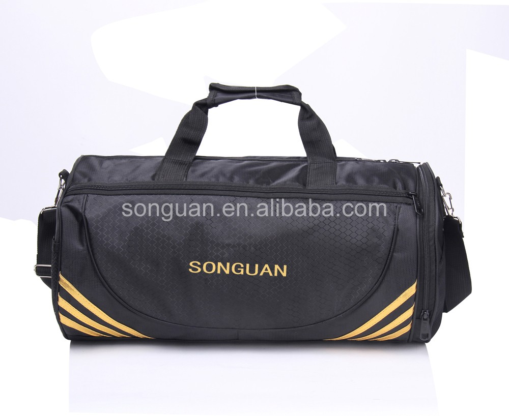 2016 outdoor gym sport bag duffel bag for travel with shoe compartment