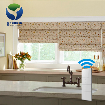Cheap Wholesale Roman Top Down Electric DIY Motorized Roller Blinds