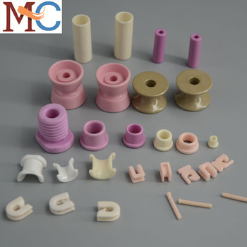 Alumina ceramic for wire and cable machinery
